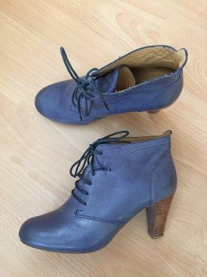 Grau/blaue Absatzschuhe von Belmondo Größe 38