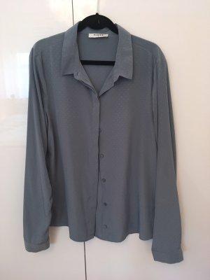 Grau blaue Bluse von Pieces