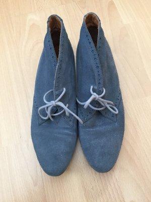 Grau/blaue Schuhe von Mark Adam in Größe 39