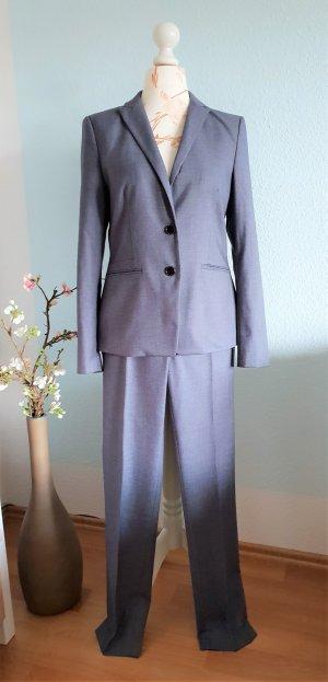 grau-blauer Anzug, Hosenanzug, Business-Anzug von Esprit