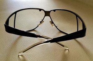 Grau/braun leicht getönte Gucci Sonnenbrille