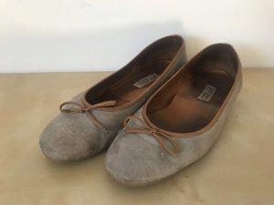 Paul Green Ballerinas grey-light brown
