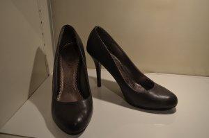 Grau-braune Stilettos Größe 39-39,5