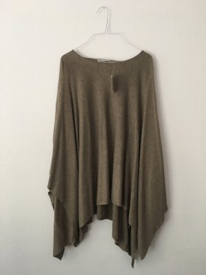 Blue Motion Poncho grey brown