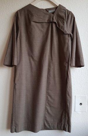 Grau-braunes Kleid von COS in Gr. 38