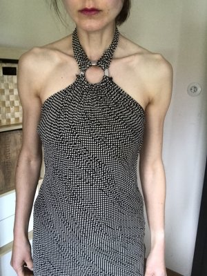 mazel Off the shoulder jurk veelkleurig