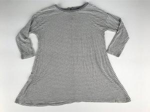 Grau gestreiftes Sweatshirt