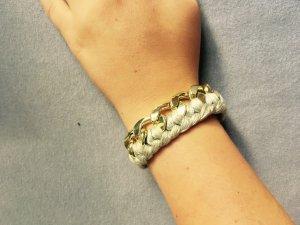 Grau Goldenes Armband