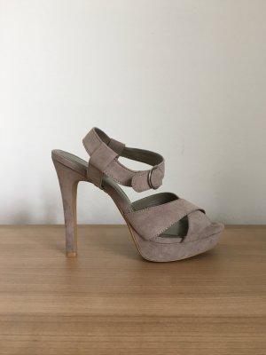 Grau High Heels von Zara