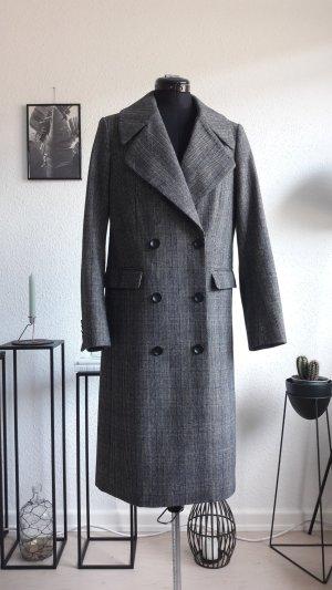 Selected Femme Wool Coat black-silver-colored wool