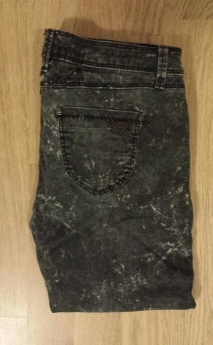 Grau melierte Jeans H&M