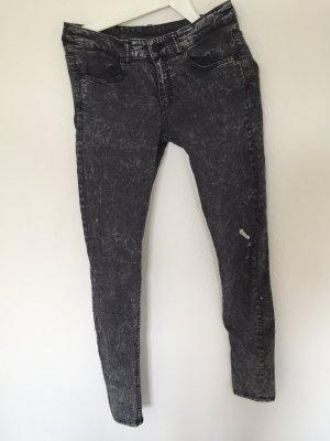 grau melierte Jeans / Usedlook