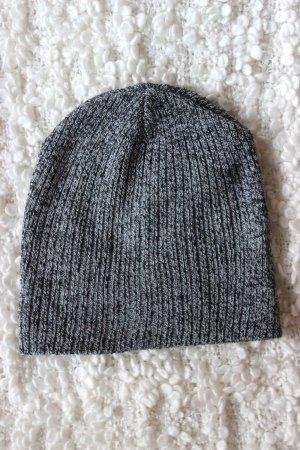 Grau melierte Mütze Beanie Forever 21 Winter Blogger