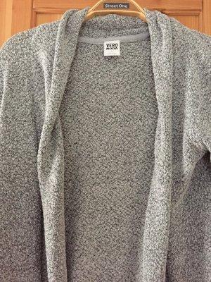Grau melierter Cardigan von Vero Moda in Größe L