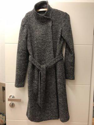 Grau melierter Mantel von Only