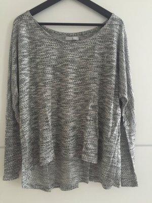 Grau melierter Pullover von Only