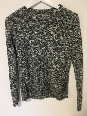 Abercrombie & Fitch Crochet Sweater grey