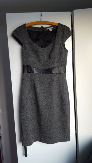 Grau-meliertes Kleid