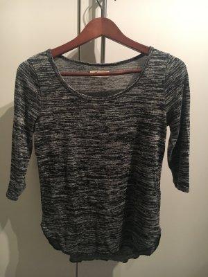 Grau-meliertes Shirt von Hollister