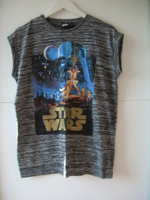 grau-meliertes Star Wars T-Shirt Gr. 42 von Atmosphere