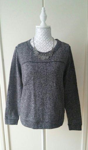 grau meliertes Sweatshirt von H&M