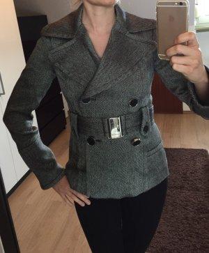 Zara Manteau court multicolore Étiquette d'article a été enlevée
