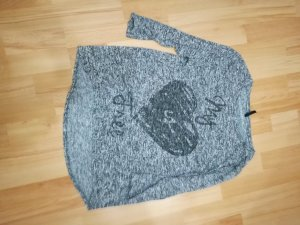 grau-mellierter Pullover von MyHollys