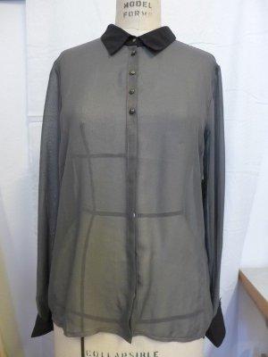 grau-metallic Bluse Only Gr. 38