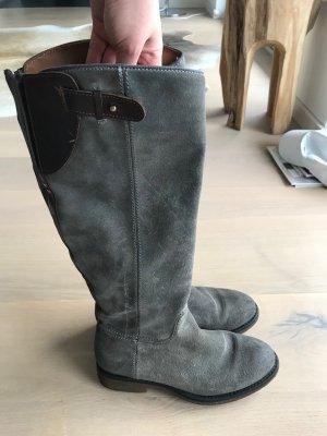 Grau Napapijri Wildleder Stiefel, sehr guter Zustand