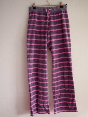 Grau/pinke Schlafanzughose