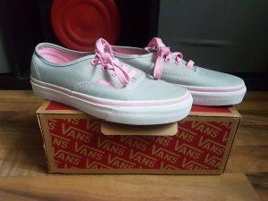 Grau Pinke Vans
