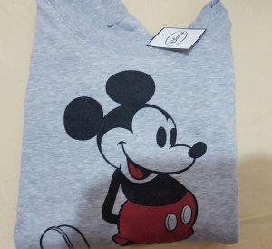 grau review Sweatpullover pulli Disney Mickey Mouse