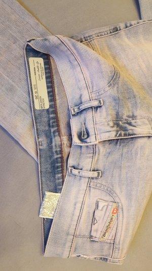 grau rosa Jeans von Diesel