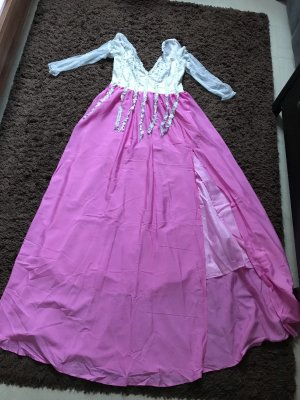 Grau Rosa kleid