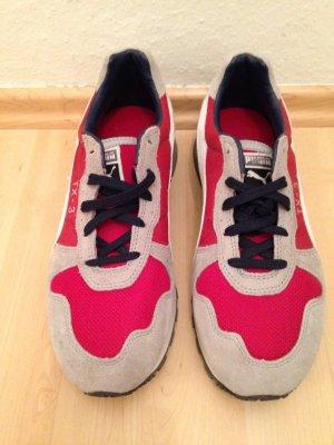 Grau-Rote Puma Sneakers TX - 3