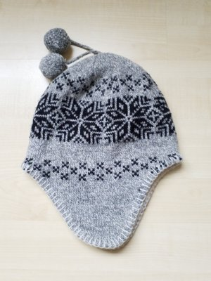 Gorra negro-gris claro