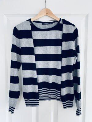 Assuili Twin Set tipo suéter black-light grey viscose