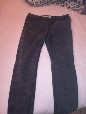 grau / schwarz melierte Hose