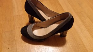 Grau - Schwarz Schuhe