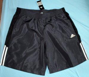 Grau-schwarze Adidas Shorts Gr. XL