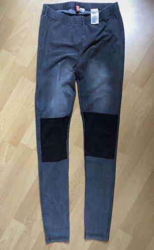 H&M Jegging gris-noir