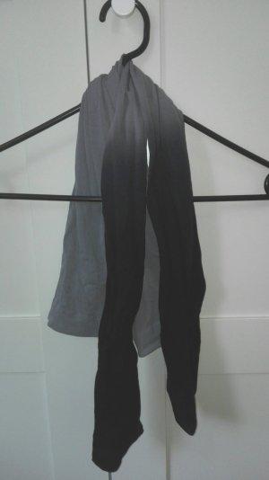 grau-schwarze Strumphose