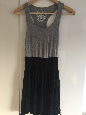 Grau/schwarzes Castro Kleid