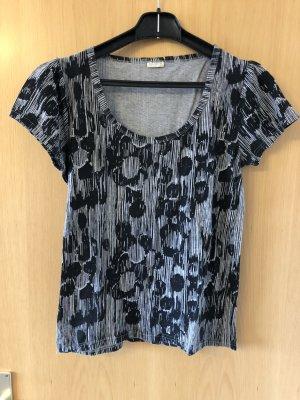 Grau-schwarzes T-Shirt von NÜMPH