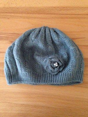 Grau-silberne Mütze von Pieces