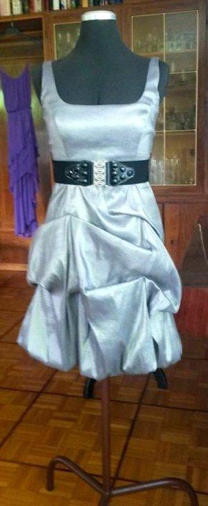 grau / silbernes festliches Kleid