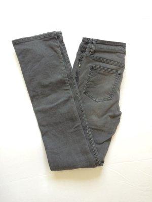 Grau verwaschene Acne Jeans, 27/34, wie neu