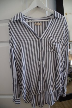 Hollister Flannel Shirt white-grey