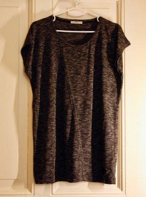 grau/ weiß meliertes T-Shirt von Minimum.