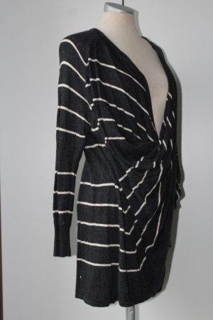 grau weiß Streifen Pullover Winter Katsumi Gr. M 38 40 Pulli